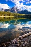 Aube de lac patricia Photo stock
