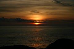 Aube de mer Photographie stock
