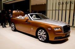 Aube de Rolls Royce à Genève 2016 Photographie stock libre de droits