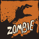 Aube de zombi, illustration de vecteur Photo stock