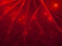 Aube rouge Photos libres de droits