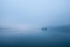 Aube tranquille, île de Han River Photos libres de droits