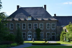 AUBEL, ΒΈΛΓΙΟ - 24 Μαΐου 2017: Αβαείο val-Dieu Στοκ Εικόνες
