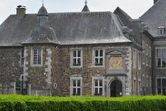 Aubel, Бельгия - май 2016 Аббатство Val-Dieu Стоковая Фотография