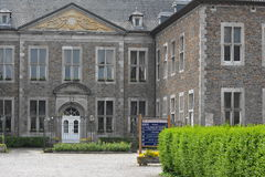 Aubel, Belgien - Mai 2016 Abtei von Val-Dieu stockbild