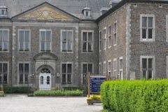 Aubel Belgien - Maj 2016 Abbotskloster av Val-Dieu Fotografering för Bildbyråer