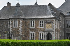 Aubel, Belgique - mai 2016 Abbaye de Val-Dieu Photographie stock