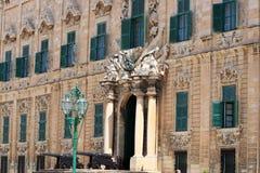 auberge castille de valletta στοκ φωτογραφίες με δικαίωμα ελεύθερης χρήσης