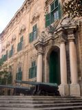 auberge castille valletta de Μάλτα Στοκ Φωτογραφίες