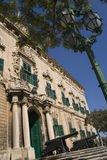 Auberge de Castile - Valletta - Malta royalty free stock photo