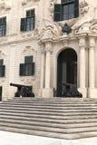 Auberge de Castille in capital of Malta - Valletta, Europe.  Stock Photos