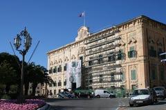 Auberge de Castille et Leon, Malta. Office of the Prime Minister, Valetta, Malta Royalty Free Stock Photography