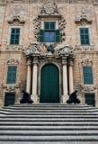 Auberge de Castille, Malte Images libres de droits