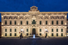 Auberge de Castille by night Stock Photos