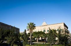 Auberge DE Castille, Valletta Royalty-vrije Stock Fotografie
