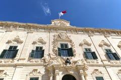 Auberge de Castille, Valletta Fotos de archivo libres de regalías