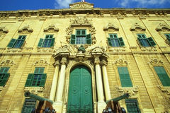 Auberge de Castille, Valletta Stock Images