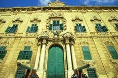 Auberge de Castille, Valletta Images stock