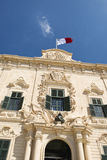 Auberge de Castille, Valletta Stock Photos