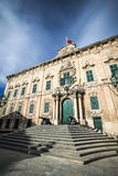 Auberge de Castille, Valletta, Malta Stock Photo