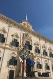 Auberge de Castille in Valletta, Malta Royalty Free Stock Photos