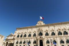 Auberge de Castille in Valletta, Malta Stock Photos