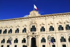 Auberge de Castille in Valletta, Malta Stock Photography