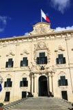 Auberge de Castille in Valletta, Malta Royalty Free Stock Image