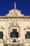 Auberge de Castille in Valletta, Malta Stock Photo