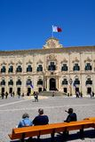 Auberge de Castille, Valletta. Royalty Free Stock Image
