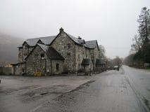 Auberge de conducteurs de bestiaux Loch Lomond Ecosse photographie stock libre de droits