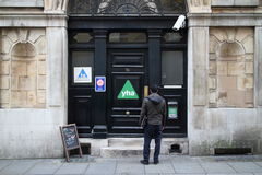 Auberge de jeunesse à Londres photographie stock libre de droits