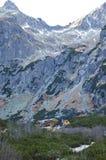 Auberge en montagnes Images libres de droits