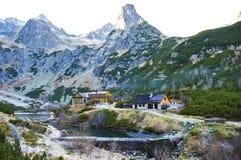Auberge en montagnes Photographie stock