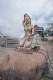 Auberge et station thermale Chiang Rai en Thaïlande du nord image stock