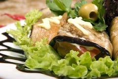 aubergine закуски стоковые фотографии rf