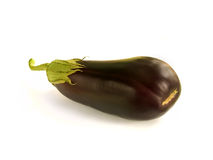 Aubergine. On a white background Royalty Free Stock Image