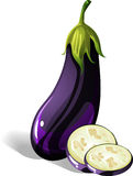 Aubergine illustration de vecteur