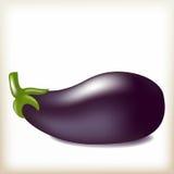 Aubergine der violetten Farbe, geschmackvolles reifes Gemüse, Stockfoto