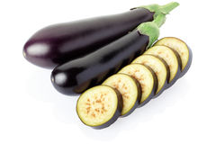 Aubergine, eggplant Stock Photography