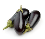 Aubergine (eggplant) Royalty Free Stock Photos