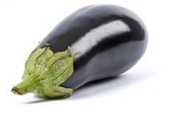 Aubergine getrennt auf Weiß lizenzfreie stockfotos