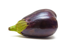 Aubergine isolated on white Stock Photos