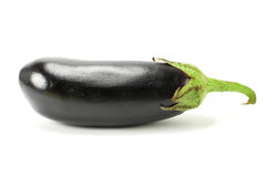 A aubergine isolated on white background Royalty Free Stock Photography