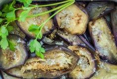 aubergine piec Zdjęcia Stock