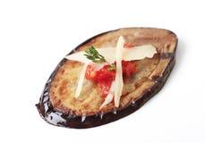 aubergine piec na grillu Zdjęcia Stock