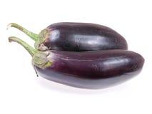 aubergine två Arkivfoton