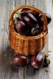 auberginen lizenzfreies stockfoto