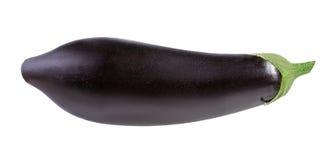 Auberginen lokalisiert auf Weiß Lizenzfreie Stockbilder