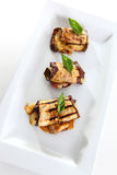 aubergines закуски Стоковое фото RF